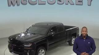 A99172NA Used 2016 Chevrolet Silverado 1500 LT 4WD Black Test Drive, Review, For Sale -