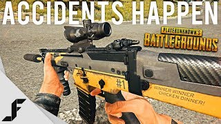 ACCIDENTS HAPPEN - PUBG ( Playerunknown's Battlegrounds )