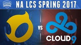 DIG vs C9, Game 3 - NA LCS 2017 Spring - Dignitas vs Cloud9 G3