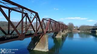 Download Video Lewisburg Railroad Bridge Drone Video MP3 3GP MP4