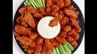 Original Buffalo Wings Recipe- Solar Cooked