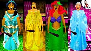 All the Mods of Granny  by Abegi Jo  Jasmine Princess mod   The evolution 34
