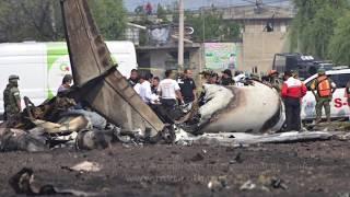 Accidente de avión en Toluca