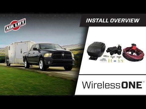 Install Overview: 25980 - WirelessOne (2nd Generation) with EZMount - Dodge Ram 1500