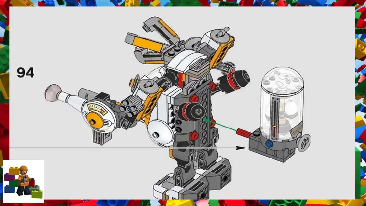 Download LEGO instructions - The Batman Movie - 70920 - Egghead Mech Food Fight
