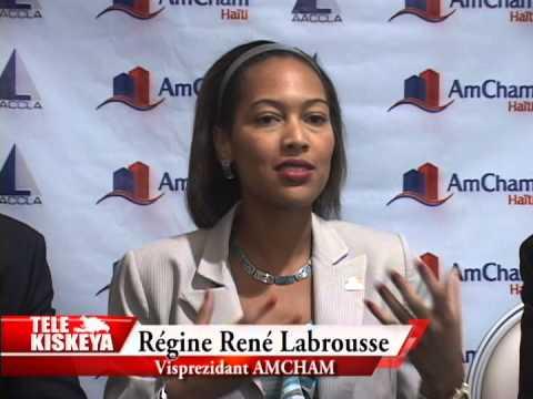 AmCham Haïti 2015: Régine René Labrousse, vice-présidente de l'AmCham