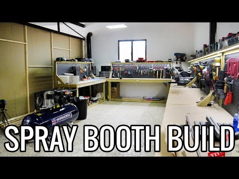 DIY Workshop Build Episode 3 - Beginning The Spray Booth | BMW E30 325i Sport Restoration
