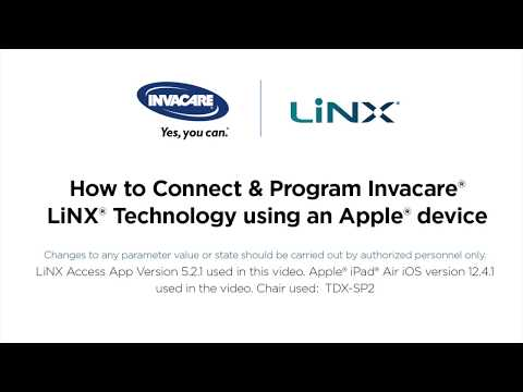 LiNX Technology - Set up Using Apple Device