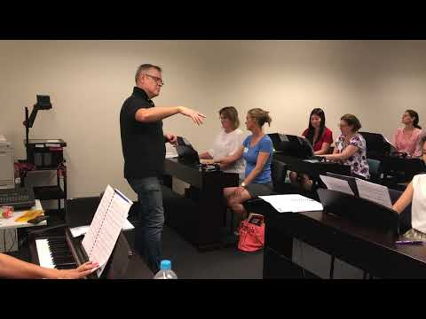Teacher Workshop Sydney Con on AMEB Piano for Leisure Series 4 with Paul Myatt