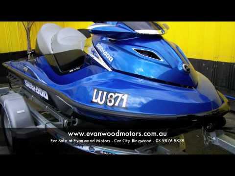 SEA DOO GTX LIMITED - Evanwood Motors - Car City