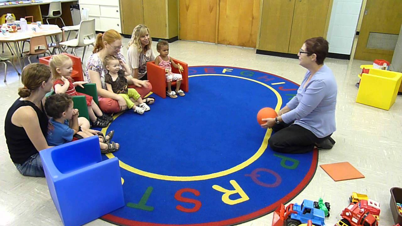 roll the ball parent child group game at jcfs virginia frank child
