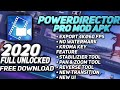 Gambar cover PowerDirector Mod Apk 🔥❤️ | Full Unlocked ❤️| No Watermark | 2020 Mod Apk 🔥| it's me Rayan