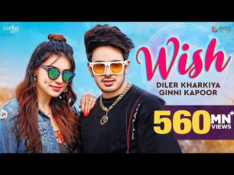 Wish - Diler Kharkiya Ft. Ginni Kapoor | New Song 2020 | Haryanvi songs | Sumeet Singh | Moto Song