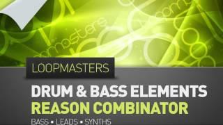 Drum Bass Reason Combinator - Loopmasters Present Drum Bass Elements Reason Combinator