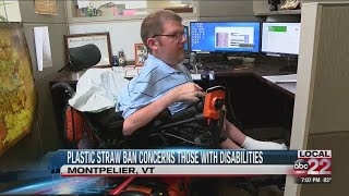 Plastic straw ban concerns those with disabilities