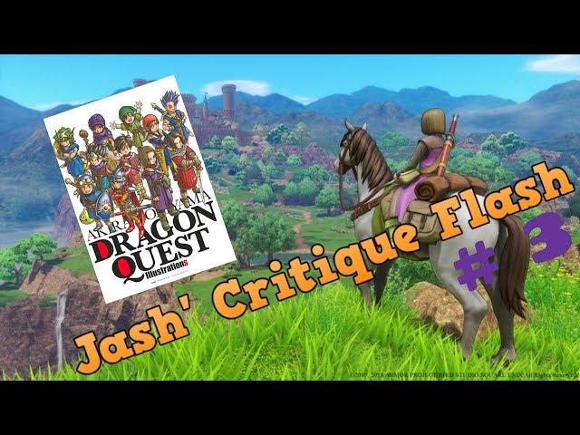 Jash' Critique Flash #3 : Dragon Quest illustrations