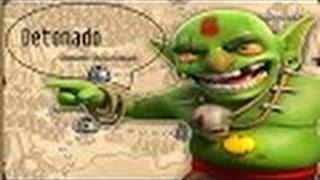Clash of Clans - Detonando os Goblins Somente com Bárbaros e Arqueiras #02
