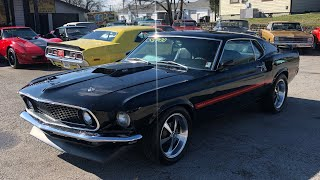 1969 Mach 1 Mustang Test Drive , Maple Motors