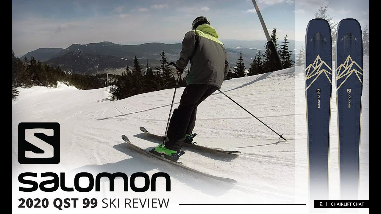 2020 Salomon QST 99 Ski Review