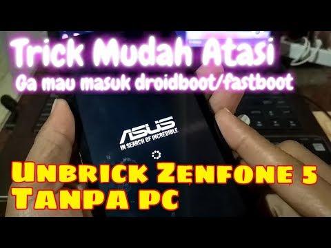 Cara Masuk Droidboot Asus Zenfone 5.