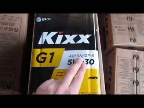 корейское моторное масло kixx 10w 40