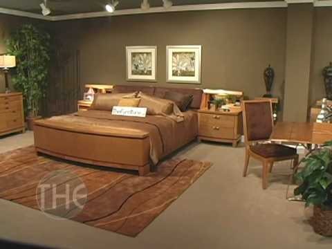Contemporary Ash Veneer Bedroom Set From U0027Capriceu0027 Collection By Fairmont  Designs   YouTube