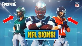 *NEW* NFL FOOTBALL SKINS Coming To Fortnite! (Trailer Announcement)