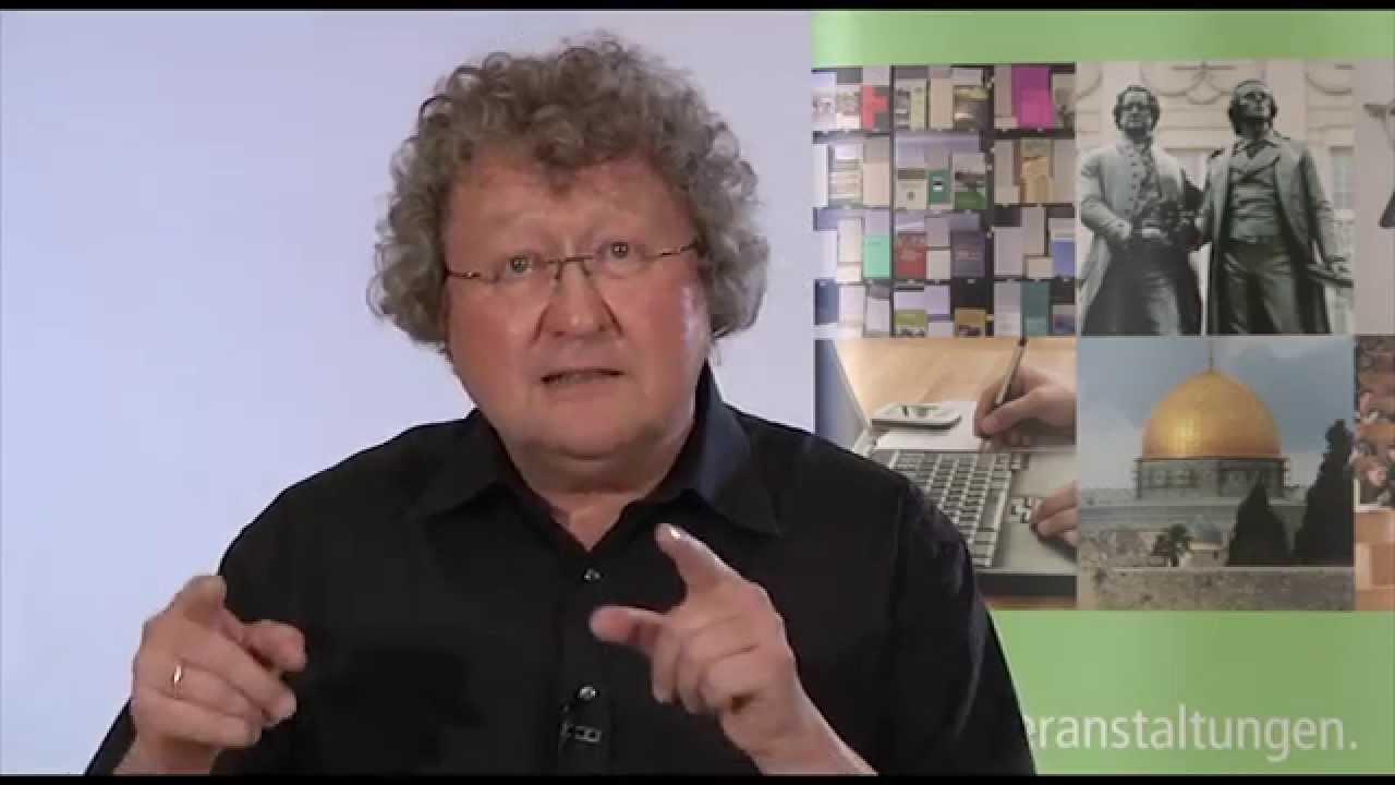 Youtube Video: Donnerstagsgespräch: Werner J. Patzelt - Wahlnachlese Landtagswahl 2014