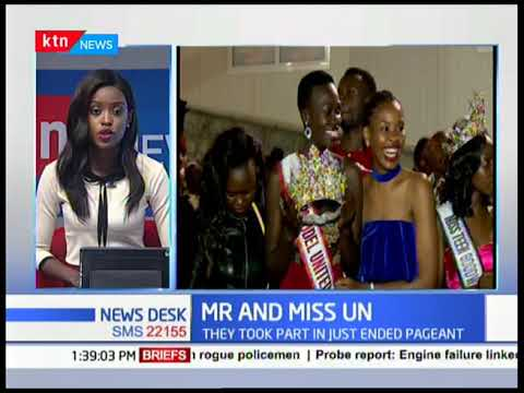 MR and Miss UN Kenyan contestants jet back into the country