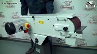 Обзор Ленточно-шлифовальный станок Blacksmith GM15-150/2-B