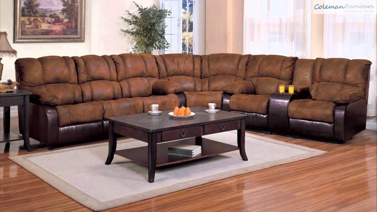 Attrayant Ronan Brown Wedge Sectional Collection From Coaster Furniture