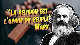Philosophie - Marx « La religion est l'opium du peuple » explication de citation