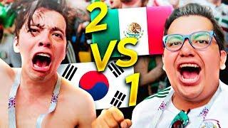 CASI NOS PERDEMOS EL PARTIDO DE MÉXICO *SEGUNDA VICTORIA Y LÍDERES DE GRUPO