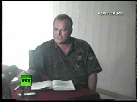 Tape Trouble: Mladic 1995 interview published by RT unknown in Hague
