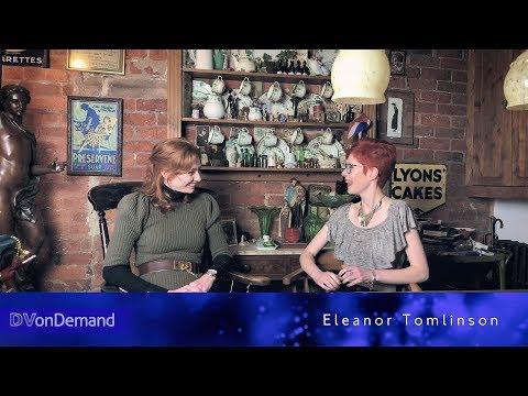 Derbyshire Artsword interviews Eleanor Tomlinson