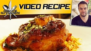 BEEF OSSO BUCO - VIDEO RECIPE