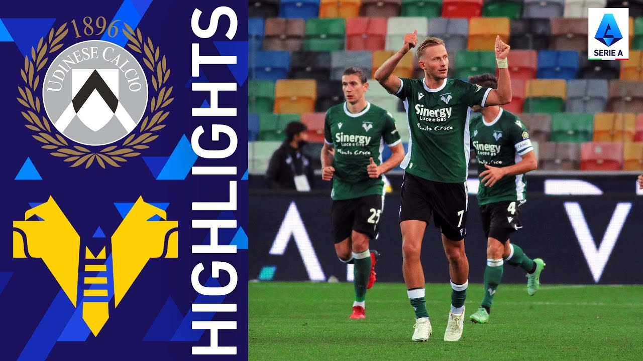 Download Udinese 1-1 Hellas Verona   The spoils are shared at the Dacia Arena   Serie A 2021/22