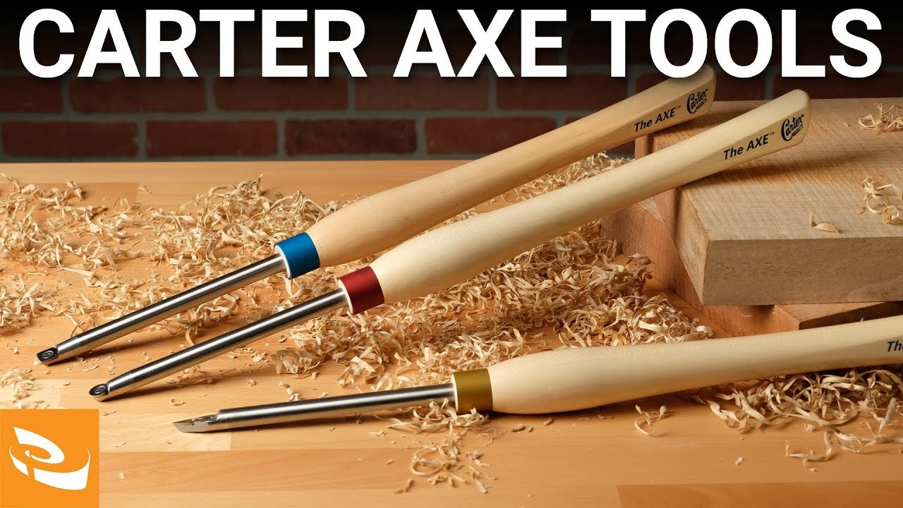 Carter Products AXE Carbide Turning Tools (Woodturning)