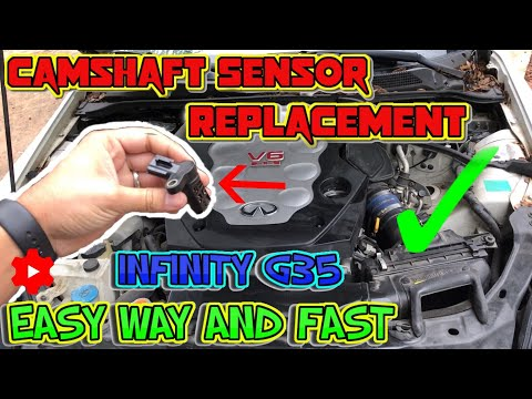 Infiniti G35 camshaft position sensor replacement