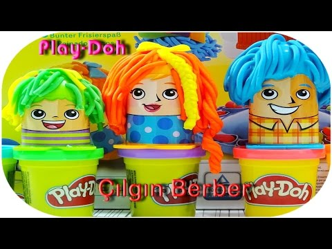 Play-doh Çılgın Berber oyun seti Yeni - Crazy  Cuts