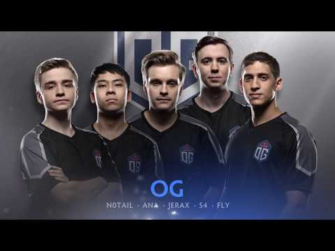 TI7 OG Team Intro