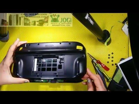 Wii U Gamepad Cracked Screen Repair By JOGi MODS Brampton