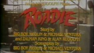 Roadie 1980 TV trailer