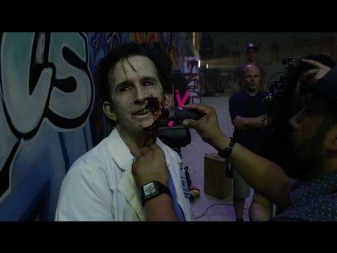 'Scouts Guide to the Zombie Apocalypse': Go OnSet with FX Artist Tony Gardner