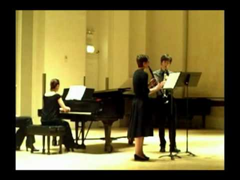 Krommer Concerto for Two Clarinets op. 35, mvt. 3