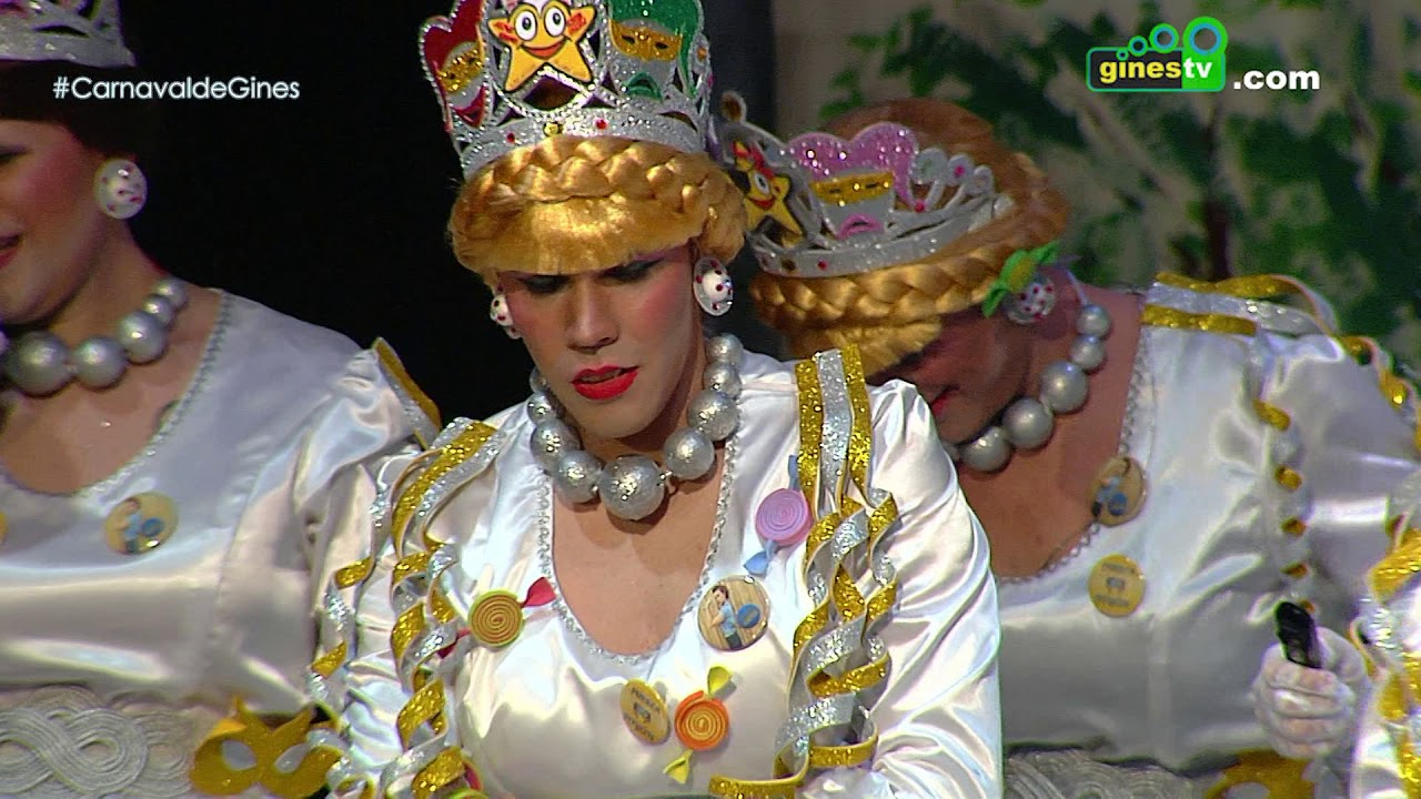 Las niñas de José Luis. Carnaval de Gines 2018 (Gran Final)