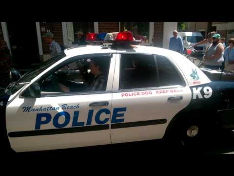 Manhattan Beach Police Patrol Aalten