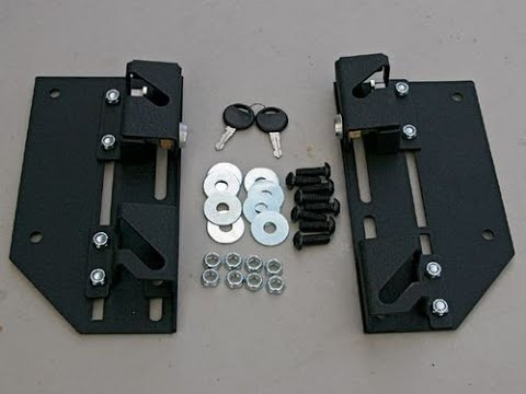 Ghost. Brackets for. Saddlebags lock bags to bike quick release system www.customcruisers.com