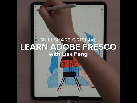 Explore Adobe Fresco, the New Digital Painting and Drawing App, with Skillshare von YouTube · Dauer:  48 Sekunden