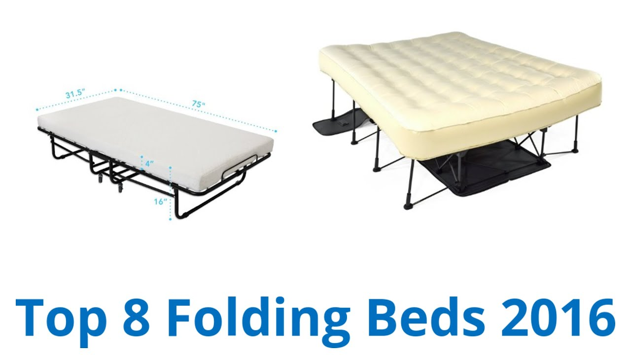 Folding Double Guest Bed With Mattress 8 Best Folding Beds 2016